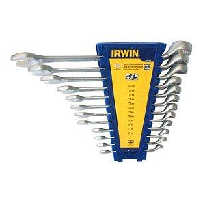 Jogo com 12 Chaves Combinadas 6 a 22mm 1879264 - Irwin