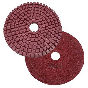 Disco Polimento com Fixação Aderente 100mm GR 400 - Uzzy