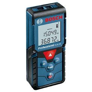 Medidor de Distancia Trena Laser 40m GLM 40 - Bosch