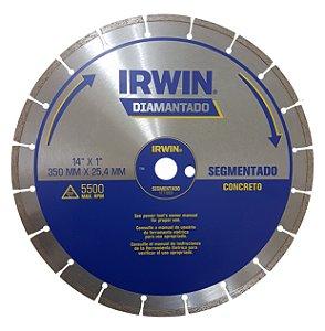Disco Diamantado Segmentado 14 pol. 1777223 - Irwin