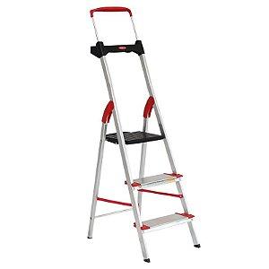 Escada de Alumínio Residencial 03 Degraus Comfort - Alumasa