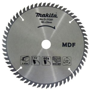 Serra Circular 7.1/4 x 20mm 60 Dentes D-21381 - Makita