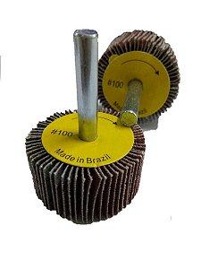 Lixa Circular Roda PG 40 x 20mm GR 100 - Stilex