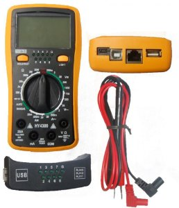 Multímetro Digital Com Teste Rede HY4300 - Lee Tools