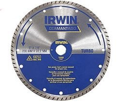 "Disco Diamantado 9"" Turbo IW8952 - Irwin"