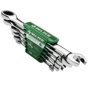Jogo de Chaves Combinadas de 8 a 19mm com 6 peças - Belzer
