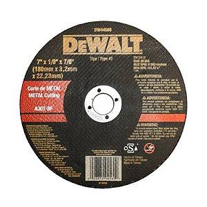 Disco Corte Metal 4.1/2 X 1/8 X 7/8 Pol. Dw44530 - Dewalt