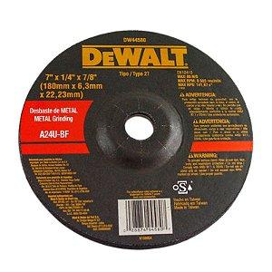 "Disco para Desbaste 7 x 7/8"" DW44580 - Dewalt"