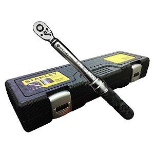 """Torquímetro de Estalo 5-25 Nm 1/4"""" STMT73587-840 - Stanley"""