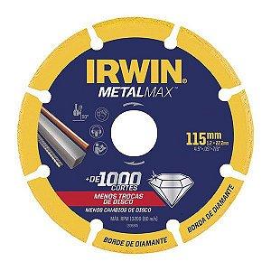 Disco De Corte Diamantado Metalmax  4.1/2 X 7/8 - Irwin