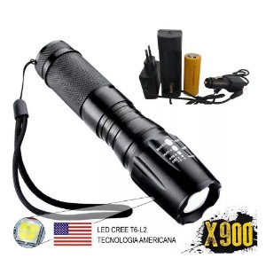 Lanterna Led Cree T6 X900 - YEY