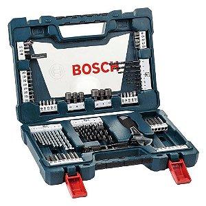 Kit Brocas e Ferramentas 83 Peças V-Line 83 - Bosch
