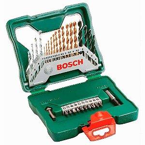 Jogo de Brocas/Bits com 30 peças X-Line X30TI - Bosch