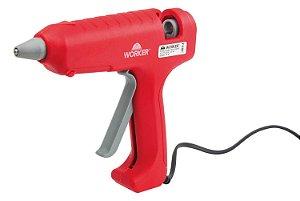 Pistola de Cola Quente Profissional 80W Bivolt - Worker