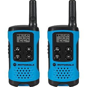 Radio Comunicador T100BR Azul - Motorola