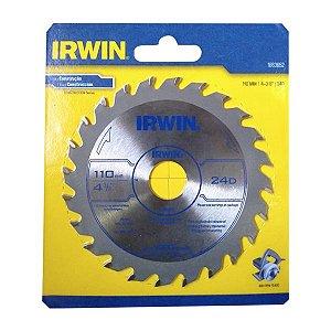 Serra Circular 4.3/8 x 20mm 24 Dentes 1863652 - Irwin