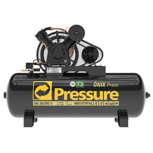 Compressor 20-200L 5HP - Pressure - Ônix Pro