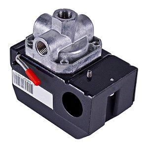 Pressostato P/ Compressor 4 Vias 100-140 LBS - ATM013 - Pressure