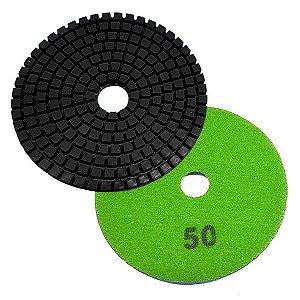 Disco Polimento com Fixação Aderente 100mm GR50 - Uzzy