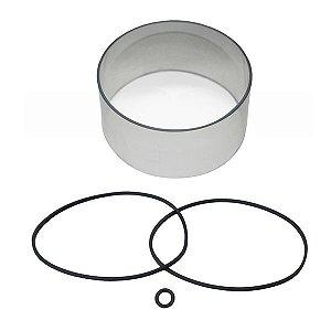 Kit de Vedação + Visor para Filtro Foguetinho
