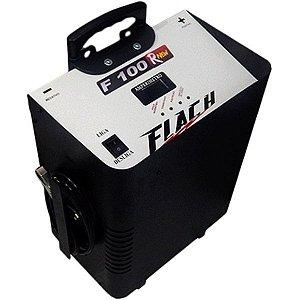 Carregador de Bateria 40A 12/24V c/ Aux. de Partida 100A Bivolt - F100 Rnew - Flach