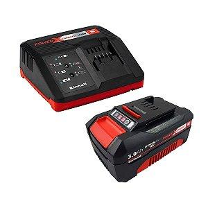 Kit Bateria 18V 3,0 Ah + Carregador Bivolt Power X Change - 4512077 - Einhell