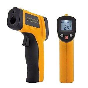 Termômetro Infravermelho -50º+380º:0.1 - F000094 - Tolvia