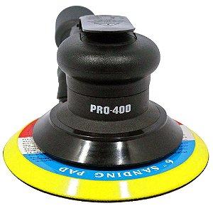 "Lixadeira Roto Orbital Pneumática 6"" - Pro-400 - LDR2"