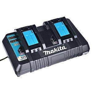 Carregador Duplo de Baterias 14.4V/18V DC18RD 127V - Makita