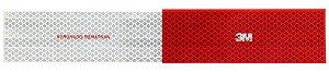 Adesivo Refletivo Faixa  30cm x 5cm 3M