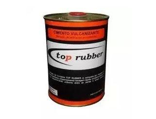 Cola Cimento Preta Top Rubber de 900ml