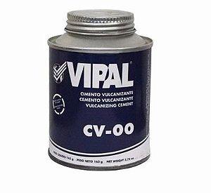 Cola Vulcanizante Vipal CV-00 para reparo frio De Câmara de Ar Bisnaga  163gr
