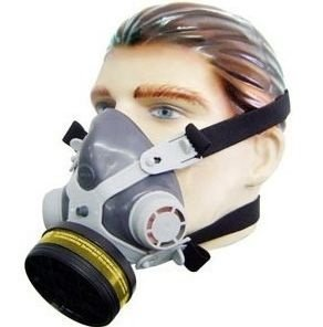 Respirador Semi Facial para Vapor Orgânico com Filtro - Alltec