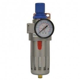 Filtro de Ar de 1/4 com Regulador de até 230 PSI - Fluir