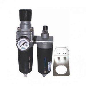Filtro de Ar de 1/2 com Regulador e Lubrificador FRL2400 - Steula