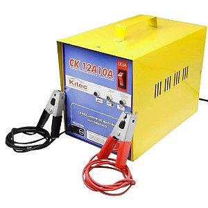 Carregador de Bateria 10A CK12A10A Bivolt - Kitec