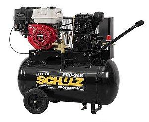 Compressor à Gasolina de 15 Pés 80 Litros 5,5HP - Schulz