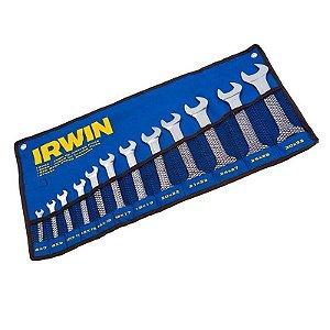 Jogo de Chave Fixa de 6 a 32mm com 12 peças - Irwin