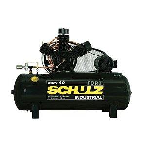 Compressor de 40 Pés 425 Litros Com Motor 10 HP Fort - Schulz