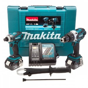 Furadeira e Parafusadeira de Impacto + Parafusadeira DLX2005X1 18V - Makita