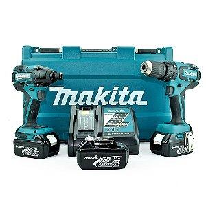 Furadeira e Parafusadeira de Impacto + Parafusadeira DLX2005X1 - Makita