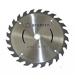 Serra Circular de 7.1/4 x 20mm com 24 dentes - Starfer