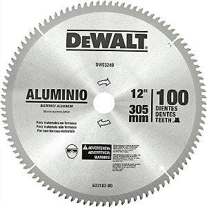 Serra Circular de 300mm com 100 dentes em Alumínio DW03240 - Dewalt