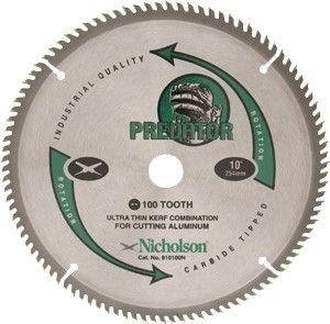 Serra Circular de 300mm com 100 dentes em Alumínio - Nicholson