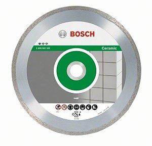 Disco Diamantado de 4.1/2 Liso para Cerâmica - Bosch