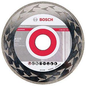 Disco Diamantado de 4.1/2 Liso para Marmore - Bosch