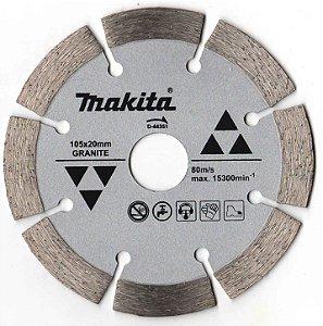 Disco Diamantado de 4.1/2 Segmentado para Granito D-44351 - Makita