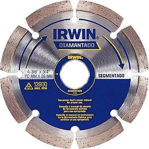 Disco Diamantado de 4.1/2 Segmentado - Irwin