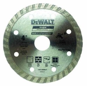 Disco Diamantado de 4.1/2 Turbo - Dewalt