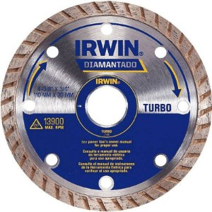 Disco Diamantado de 4.1/2 Turbo - Irwin